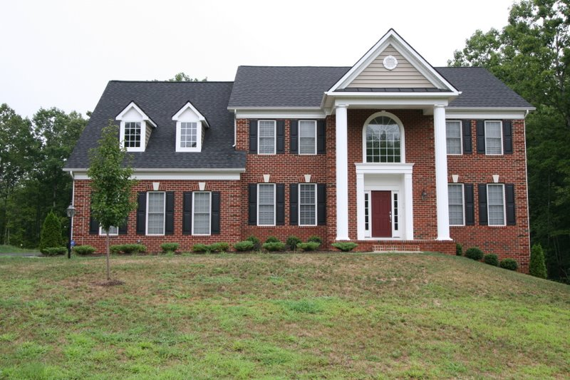 how about this brick colonial